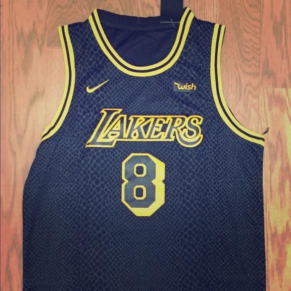 277c77738945 black mamba jersey Nike Shirts